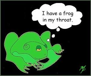 frog throat - October 22, 2014s